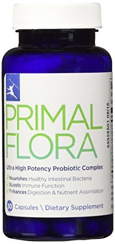 #1 Complete Probiotic Blend - Primal Probiotics, 30 capsules by Primal Blueprint
