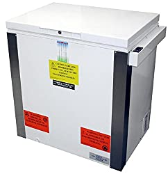 Accucold Vt85 45 High Counter-depth Laboratory Chest Freezer With 8.8 Cu. Ft. Capacity Manual Defrost Capable Of -30 Degrees C Operation Temperature Alarm Temperature Display & Lock In White