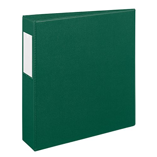 Avery Heavy-Duty Binder with 2-Inch One Touch EZD Ring, Green, 1 Binder (21009)