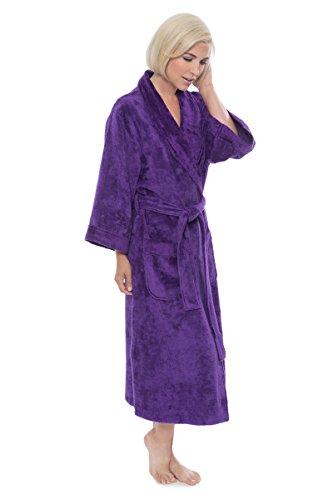 f4e8a06364 Women s Terry Cloth Bath Robe - Luxury Comfy Robes by Texere (Sitkimono)