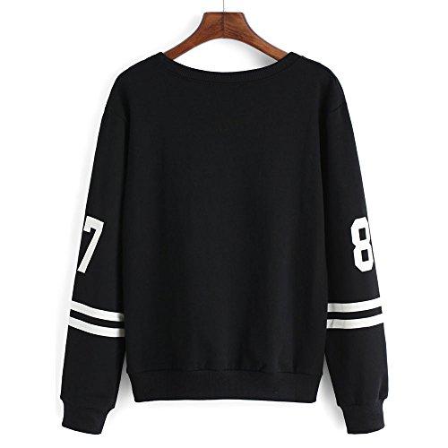 Tops Potter Lunettes De H Sweatshirts shirt Capuche noir Sweats Sweater Sweat Automne Manches Femme À Pull Hoodie Imprimé Hiver Chemisiers Harry Encapuchonné Sweat Longues FZRwxyYqOc