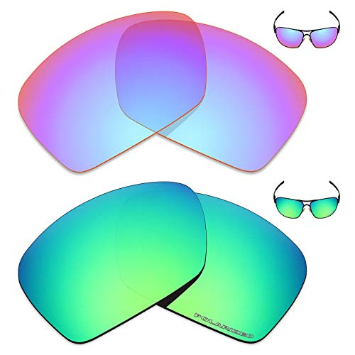 Mryok+ 2 Pair Polarized Replacement Lenses for Oakley for sale  Delivered anywhere in Canada