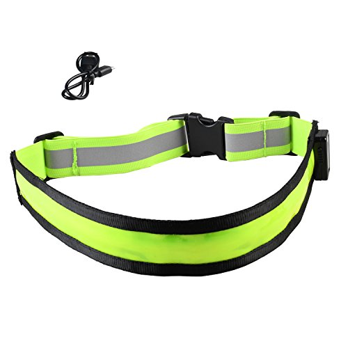Running Reflective Rechargeable Adjustable Visibility