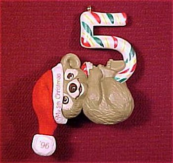 Hallmark Childs Fifth Christmas Ornament - 4