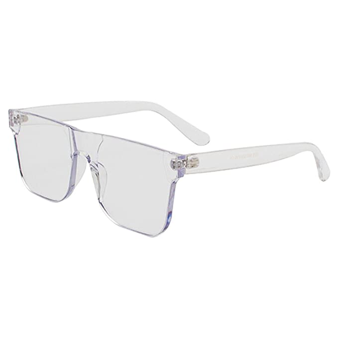 Deylaying Unisex Sin Montura Marco Polarizadas Gafas de Sol Anteojos UV400 Portección Sunglasses