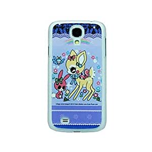 GJY The Deer and Rabbit Pattern Hard Case for Samsung Galaxy S4 I9500