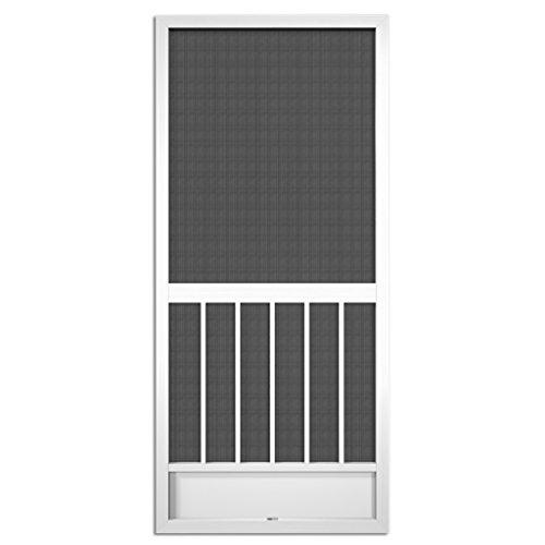 Westmore White Aluminum Screen Door (80x36)