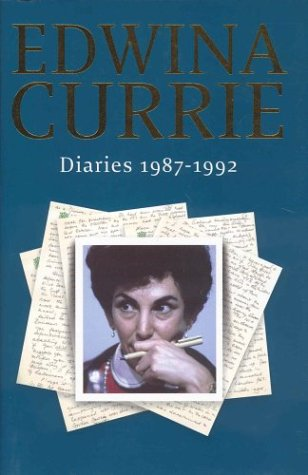 book cover of Diaries 1987-1992