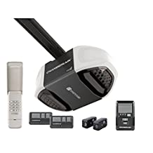 Chamberlain WD832KEVC Garage Door Opener, ½ HP, Ultra-Quiet Belt Drive Operation, MyQ Smartphone Control Enabled (Internet Gateway Sold Separately), Includes 2-3 Button Remotes, Keyless Entry Keypad, Multi-Function Wall Control Panel