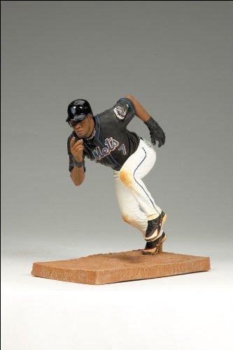McFarlane Toys MLB Series 25 Jose Reyes Figure New York Mets Black Jersey
