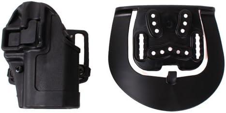 BLACKHAWK Gripbreak leather holster BLACK LH for GLOCK 17 19 22 23 26 27 19X 45