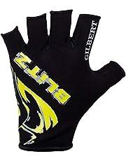 Gilbert American Football Gloves Half Finger Gloves - XS,Multi Color