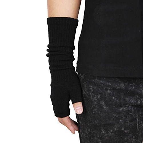 ZWS134 Unisex Autumn and Winter Elasticity Fingerless Arm Warmers Gloves (8 Colors)