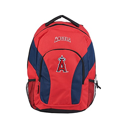 The Northwest Company MLB Los Angeles Angels DraftDay Backpack, 18-Inch, Red