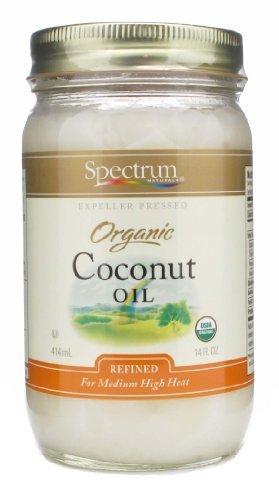 Spectrum Refined Organic Coconut Oil (14 Oz)