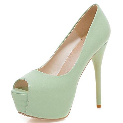 Fashion Heel - plataforma mujer Verde