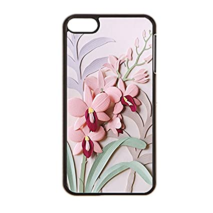 Amazon som lam paper sculpture flowers protective case for ipod som lam paper sculpture flowers protective case for ipod touch 6 case black hard plastic mightylinksfo