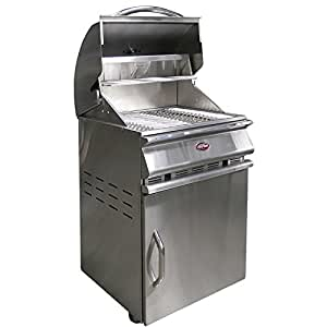 Cal Flame BBQCR11-COAL Charcoal Grill Stainless Steel