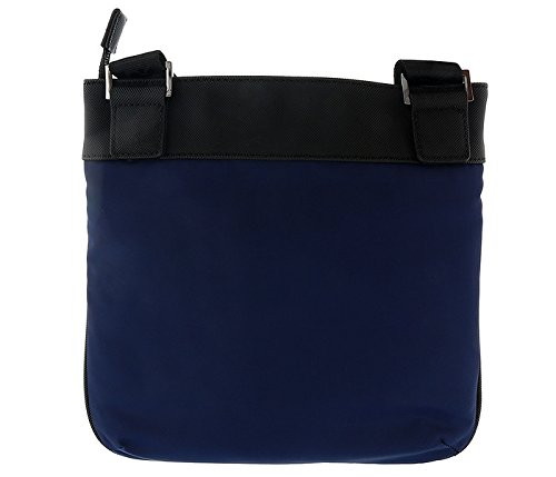 db8a8a6b54c8 Amazon.com  Versace EE1YSBB32 E240 Prussian Blue Messenger Bag for Mens   Shoes