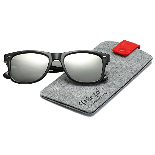 Polarspex Polarized 80's Retro Classic Trendy Stylish Sunglasses