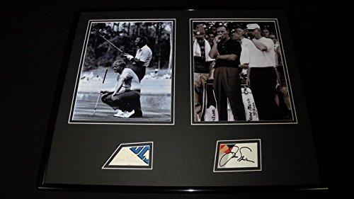 Arnold Palmer Signed Photo - Arnold Palmer Jack Nicklaus Dual Signed Framed 16x20 Photo Display JSA