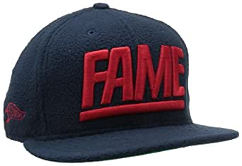 Hall Of Fame Men's Block Polar Fleece New Era, Navy/Red, 7 1/8