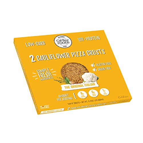 - Cali'flour Foods Gluten Free, Low Carb Cauliflower Original Italian Pizza Crusts - 1 Box - (2 Total Crusts Per Box)