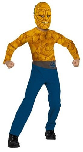 The Fantastic 4 Costumes (Fantastic Four The Thing Standard Child Costume: Size 10-12)