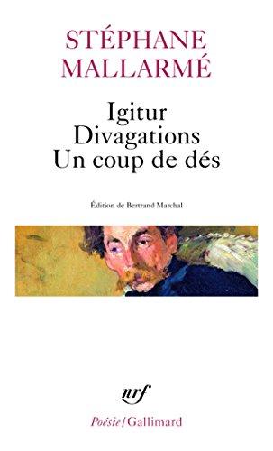 Igitur Divag Coup Des (Poesie/Gallimard) (French Edition)