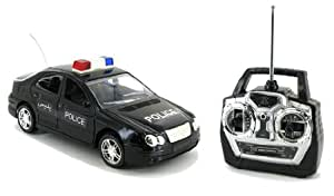 Mercedes Benz C-Class Police Edition Electric RTR Remote Control RC Car (Color May Vary)