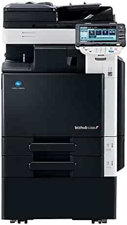 Refurbished Konica Minolta BizHub C220 Tabloid-size Color Multifunction Printer - 22ppm, Copy, Print, Color Scan, 2 Trays and Stand