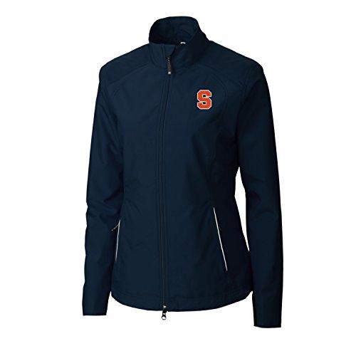 NCAA Syracuse Orange Adult Women CB Weathertec Beacon Full Zip Jacket, XX-Large, Navy Blue