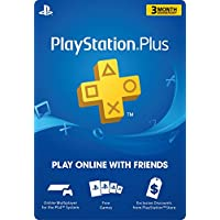3 Month PlayStation Plus Membership  - PS3/ PS4/ PS Vita...