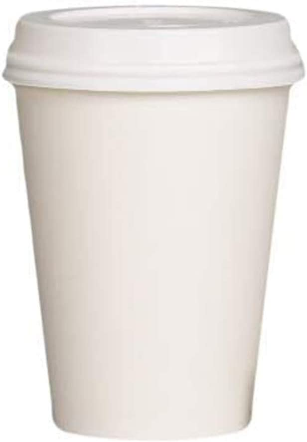 Buy Pack of 50 Disposable Paper Coffee Cups Light Brown