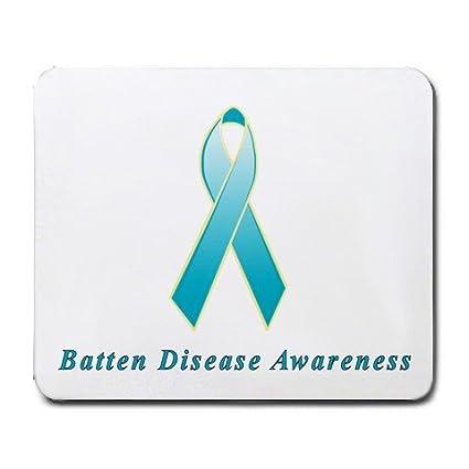 Amazon com : Batten Disease Awareness Ribbon Mouse Pad