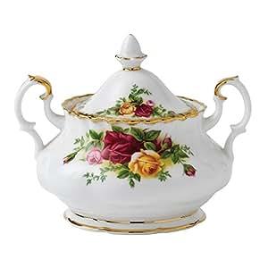Royal Albert Old Country Roses Covered Sugar Bowl