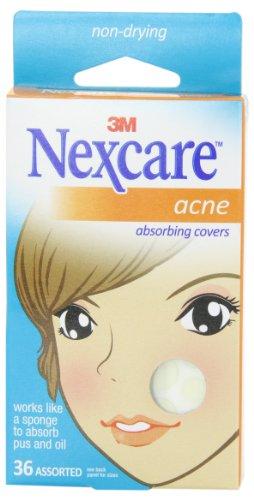 Nexcare acné Absorbing couverture, deux tailles, 36 comte