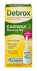 Excessive earwax build-up can lead to ear discomfort and reduced hearing and can affect your day-to-day life. Over-the-counter earwax removal drops are a safe and inexpensive in-home solution. Debrox's gentle, non-irritating microfoam cleansi...
