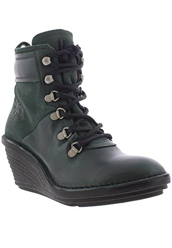 Fly Bottle London Leather Seaweed Sica EU Boots 37 Womens 678 rrZqX