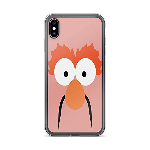 iPhone Xs Max Case Clear Anti-Scratch Lab Beaker, Muppets Cover Phone Cases for iPhone Xs Max, Crystal Clear]()