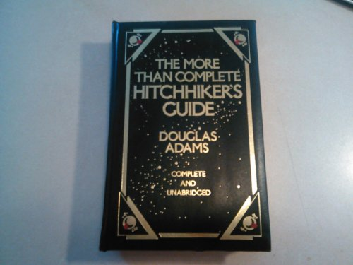 More Than Complete Hitchhiker's Guide: Complete & Unabridged (GENUINE BONDED LEATHER ()