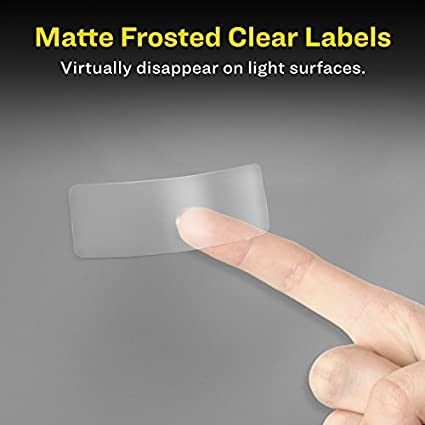 Avery Matte Frosted Clear Address Labels For Laser Printers 2 X 4