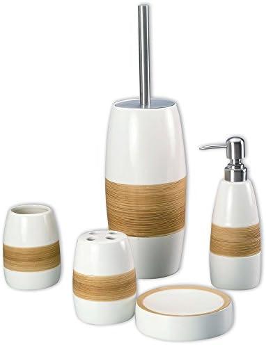 Badaccessoires Kosmetik Zahnbürsten Becher WC-Garnitur Seifenablage Seifenspende