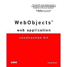 WebObjects Web Application Construction Kit by Ruzek, George