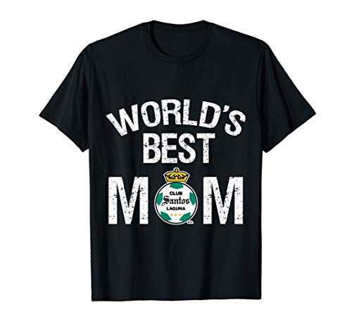 Fc Santos Laguna Mexico World's Best Mom TShirt Mother's Day ()
