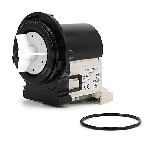 (4681EA2001T Washer Drain Pump Replacement Parts For LG Washing Machines Assembly, Replaces AP5328388, 2003273, 4681EA2001D)