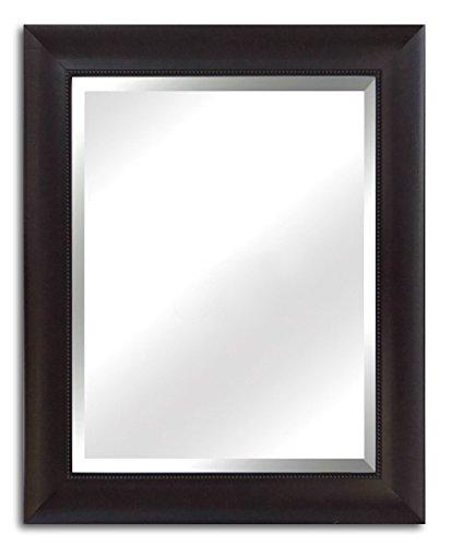 West Frames Napa Vanity Bedroom Bathroom Framed Wall Mirror Espresso, 30 x 42