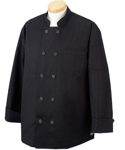 Dickies Economy Chef Coat - BLACK - X-Small ()
