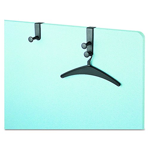 (Quartet 20701 One-Post Over-The-Panel Hook with Garment Hanger, 1 1/2