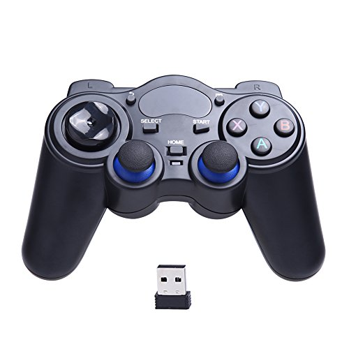 Alloet Universal 2.4G Wireless Game Gamepad Joystick Support Android 2.3 or above System and Windows 8/7/X